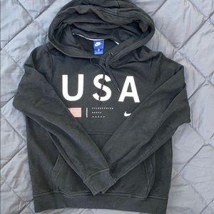 Nike USA black hoodie